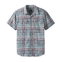 Prana Cayman Plaid Mens Shirt