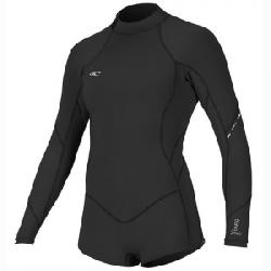 O'Neill Bahia 2/1MM L/S Spring Wetsuit Blk/blk/blk 10