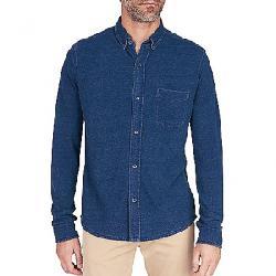 Faherty Knit Pacific Long Sleeve Shirt Dark Java Wash