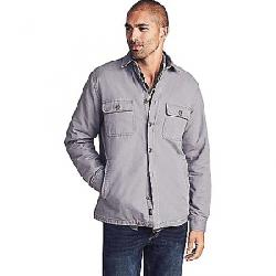 Faherty Men's Blanket Lined CPO Shirt Rugged Grey