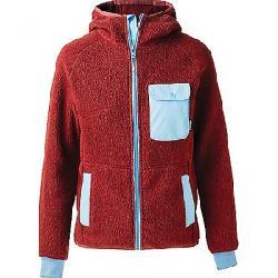 Cotopaxi Men's Cubre Hooded Full Zip Fleece Jacket Brick/Sky