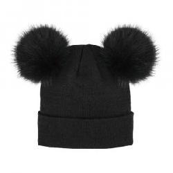 Peter Glenn Double Pom Knit Hat (Women's)