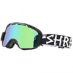 Shred Amazify Snow Goggle Blackout CBL/Plasma/CBL Green/Plasma Reflect