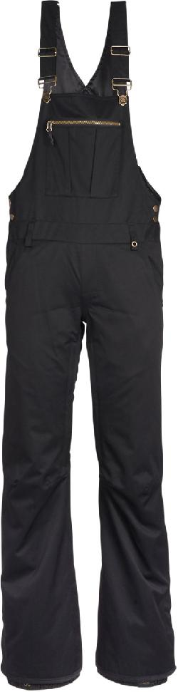 686 Black Magic Insulated Overall Bib Snowboard Pants