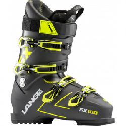 Lange SX 100 Ski Boots Anthracite/yellow 29.5