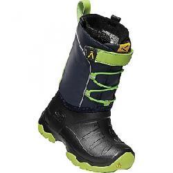 Keen Kids' Lumi Waterproof Boot Blue Nights / Greenery