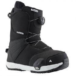 Burton Zipline Step On Boot - Kid's Black 7k