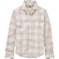 Timberland Men's Mill River Linen Ombre Plaid LS Shirt Wind Chime