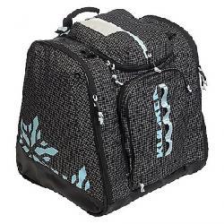 Kulkea Powder Trekker Ski Boot Bag Black/White/Powder Blue