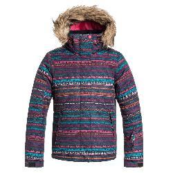 Roxy American Pie w/ Faux Fur Girls Snowboard Jacket