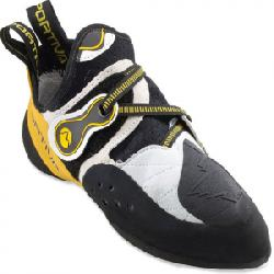 La Sportiva Solution Climbing Shoes White/yellow 35.5