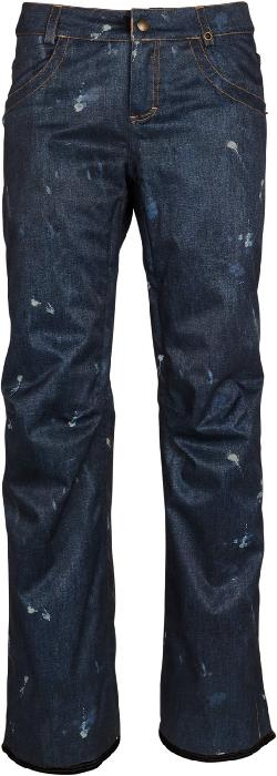 686 Deconstructed Denim Insulated Snowboard Pants