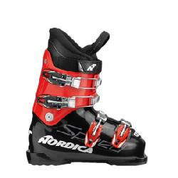 Nordica Speedmachine J4 Ski Boots - Kid's Black/red 19.5