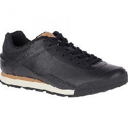 Merrell Men's Burnt Rock Leather Shoe Black