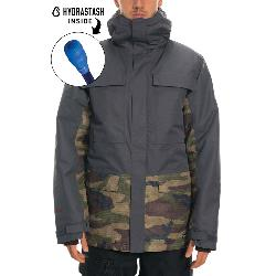 686 Hydrastash Canteen Mens Insulated Snowboard Jacket
