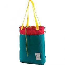 Topo Designs Cinch Tote Turquoise / Red