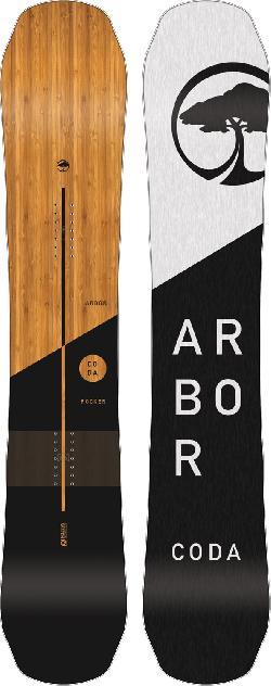 Arbor Coda Rocker Midwide Snowboard