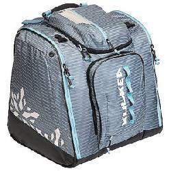 Kulkea Powder Trekker Ski Boot Bag Lilac Stripes/White