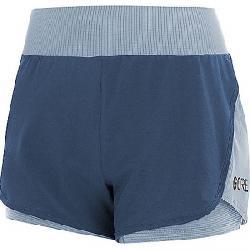 Gore Wear Women's Gore R7 2 IN 1 Short Deep Water Blue / Cloudy Blue
