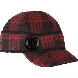 Stormy Kromer Button Up Cap Black/Red Tartan