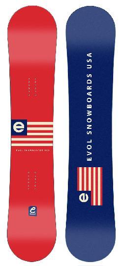 Evol Flag Snowboard