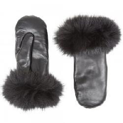 Peter Glenn Leather Mittens (Women's)