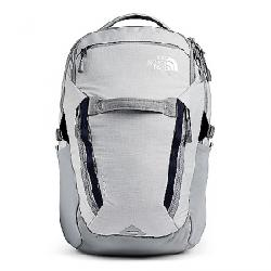 The North Face Surge Backpack High Rise Grey Light Heather / TNF Navy