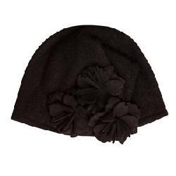 Elan Blanc Wool Cloche Hat (Women's)