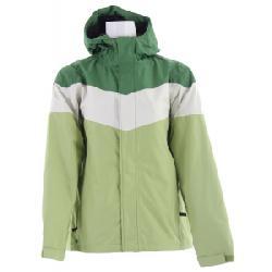 Planet Earth Striped Snowboard Jacket