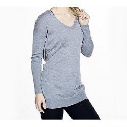 Vimmia Women's Shavasana Reversible Sweater Light Heather Grey