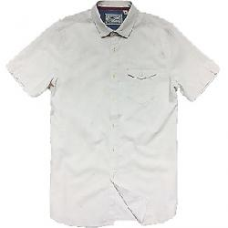 Jeremiah Men's Color Nep Woven S/S Shirt Beige