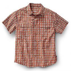 Royal Robbins Men's Diablo Plaid SS Shirt Salsa