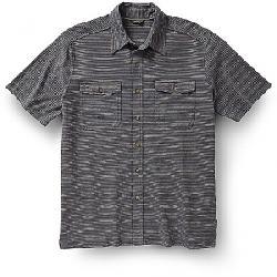 Royal Robbins Men's Breeze Thru Stripe Button Front Shirt Slate