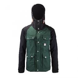 Topo Designs Men's Mountain Jacket Forest / Black