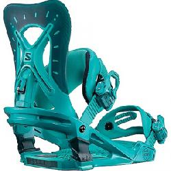 Salomon Women's Nova Snowboard Bindings Teal Blue