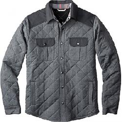 Smartwool Men's Summit County Quilted Shirt Jacket Charcoal Heather