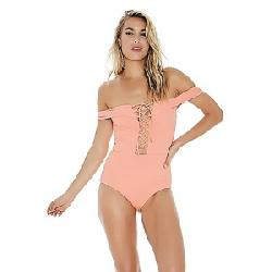 L Space Women's Anja One Piece Swimsuit Tropical Peach