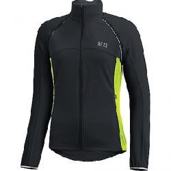 Gore Wear Women's Phantom Lady Plus Gore Windstopper Zip-Off Jacket Black / Neon Yellow
