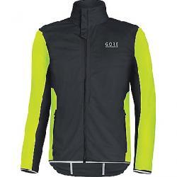 Gore Wear Men's Essential Gore Windstopper Softshell Light Jacket Black / Neon Yellow