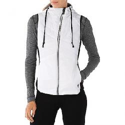 Smartwool Women's Double Propulsion 60 Hooded Vest Black / White