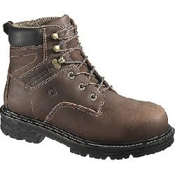 Wolverine Men's Nolan Waterproof 6IN Composite Toe Boot Dark Brown