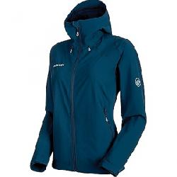 Mammut Women's Runbold Trail SO Hooded Jacket Jay