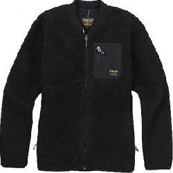 Burton Men's Grove Full Zip Fleece Jacket True Black 001