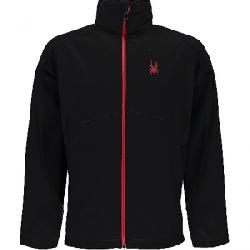 Spyder Men's Fresh Air Jacket Black / Black