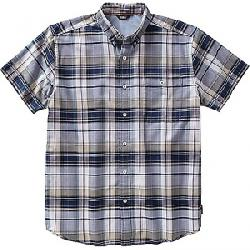 Royal Robbins Men's Go Everywhere Oxford Plaid SS Shirt Spanish Moss