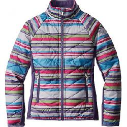 Smartwool Girl's SmartLoft Double Corbet 120 Jacket Multi Stripe