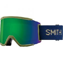 Smith Squad XL ChromaPop Snow Goggle Navy Camo Split/CPop Sun Grn/CPop Storm Rose Fls