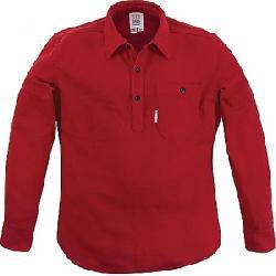 Topo Designs Men's Mountain Popover Top Red