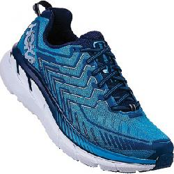 Hoka One One Men's Clifton 4 Wide Shoe Diva Blue / True Blue