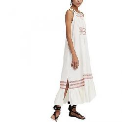 Free People Women's Another Love Smocked Midi Dress Ivory
